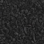 Black Rubber Playground Mulch