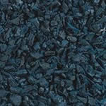 Blue Rubber Playground Mulch