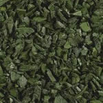 Green Rubber Playground Mulch