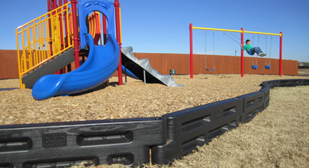 Interlocking Playground Border